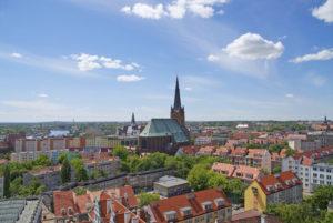 Katedra w mieście Szczecin