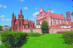 église de Vilnius